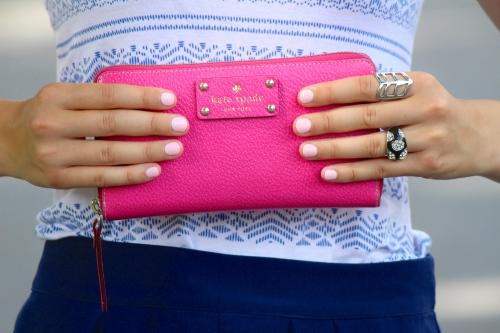 Pop of Pink Wallet
