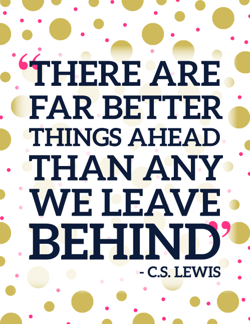 Better Things Ahead Quote