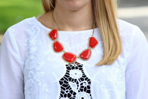Fourth of July necklace